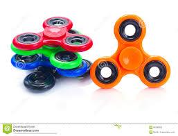 Designs Of Fidget Spinners Fidget Spinner Popular Relaxing Toy Generic Design Stock