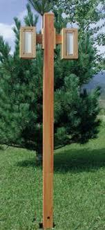 Wooden light post Contemporary Garden Idaho Wood Click To Enlarge Cedar Post Lights Idaho Wood Post And Area Lights By Idaho Woodcedar And Powder Coated Lighting