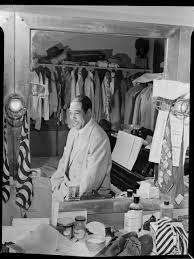 portrait of duke ellington paramount theater new york n y ca   portrait of duke ellington paramount theater new york n y ca sept 1946 library of congress