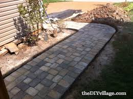 diy pavers. Delighful Diy DIY Paver Path Tutorial In Diy Pavers