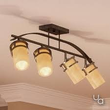 ceiling track lighting. UQL2419 Rustic Ceiling Track Lighting, 14.5\ Ceiling Track Lighting G