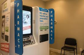 Over The Counter Medication Vending Machine Classy Kiosk At Clinic Helps Patients Get Medications Quickly Health