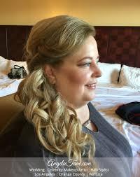 courtyard marriott long beach wedding bride rachal makeup artist hair stylist angela tam orange county los angeles