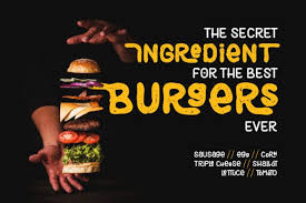 Dreamstime is the world`s largest stock photography community. Black Burger Font By Diqtam Creative Fabrica Black Burger Burger Easy Fonts