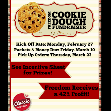 flyers harrisburg dom elementary dom cookie dough fundraiser