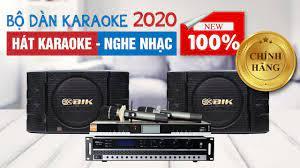 Dàn karaoke dưới 20tr - Loa BIK Nhật Bản bass 30 hát karaoke, nghe nhạc hay  - YouTube