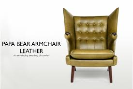 papa bear chair. Papa Bear Armchair Leather Chair