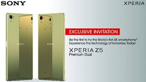 sony xperia z5 premium price. join the sony xperia z5 series malaysia launch! premium price