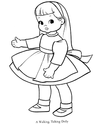 Small Picture Creepy Looking Dolls Coloring Coloring Pages