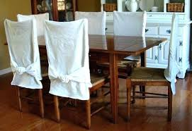 canvas dining chair covers stretch banquet slipcovers dining room wedding party short