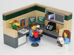 lego home office. Exellent Home Cubical World Inside Lego Home Office F