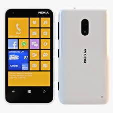 Nokia Lumia 620 White 3D Model #AD ...