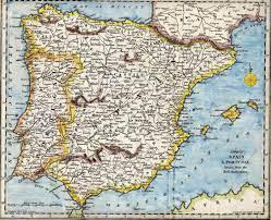Cartina Politica Spagna E Portogallo