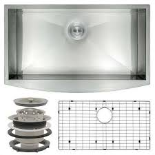 KOHLER Staccato DropIn Stainless Steel 33 In 4Hole Double Bowl Home Depot Stainless Steel Kitchen Sinks
