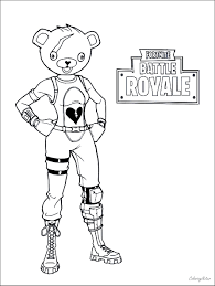 Fortnite Coloring Pages Season 7 Ice King Fortnite Generator Random
