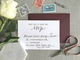 6 common questions about wedding rsvp cards elisaanne calligraphy Who Are Wedding Rsvp Cards Returned To this is a returned rsvp card for my wedding! as you can see, i who should wedding rsvp cards be returned to