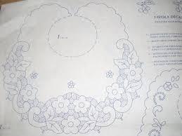 Disegno Da Ricamare Intarsio Bavaglino Magiedifiloit Punto Croce