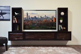 Floating Tv Stand Wall Units Extraordinary Wall Hung Entertainment Center Wall