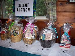 gift baskets for silent auction