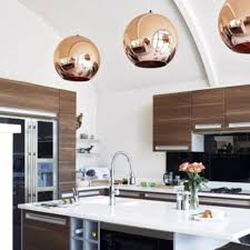 copper kitchen lighting. Modren Kitchen Copper Pendant Light Cheers Up Your Rooms Traba Homes Intended Kitchen Lighting A