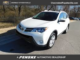 2014 Used Toyota RAV4 LIMITED at Fayetteville Autopark, IID 17266655
