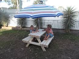 Kidkraft Outdoor Picnic TableChildrens Outdoor Furniture With Umbrella