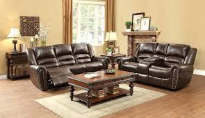 light brown leather reclining sofa chairs couch and loveseat dark bonded total rooms home improvement engaging