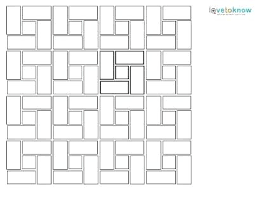 Floor Tile Layout Patterns Extraordinary How To Lay Out Tile Floor Tile Layout Patterns Laying The Target