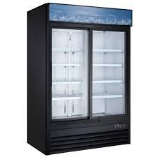 gdc47s 53 double sliding glass door merchandising refrigerator