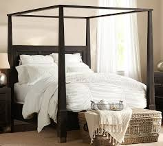 Dramatic Beautiful Four Poster Four Poster Bed Canopy Frame Fabulous ...