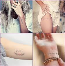 Tatuaggi Con Scritte Esempi E Idee Tra Nomi E Frasi