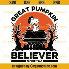 This is a charlie brown thanksgiving by flix.gr on vimeo, the home for high quality videos and the people who love them. Snoopy Great Pumpkin Believer Since 1966 Svg Snoopy Svg Halloween Svg Svgsunshine