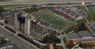 Stambaugh Stadium Places Youngstown State Architecture