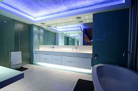 modern bathroom lighting luxury design. Luxury And Large Contemporary House Bathroom Modern Lighting Design S