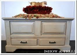 how i glaze furniture}