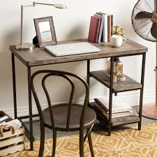 Renate Distressed Grey Slim Writing Desk - Free Shipping Today -  Overstock.com - 15539220