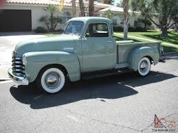 chevrolet 3100 pickup 5 window shortbed 1947 1948 1949 1950 1952 ...