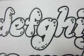 4 Best Images Of Fancy Bubble Letters How To Draw Fancy Lower