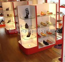 Footwear Display Stands Factory Price Custom Footwear Sneaker Shoe Store Shelf 66