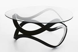 modern circular coffee table