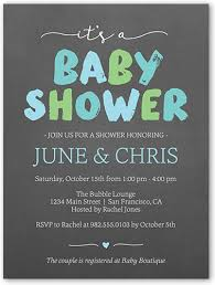 Brushed Letters Boy 4x5 Baby Shower Invitation Cards Shutterfly