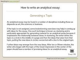 analytical essay example truman show analytical essay help best  how to write an analytical essay essay examples