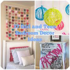 Diy Decoration For Bedroom Diy Teenage Bedroom Decor Pinterest