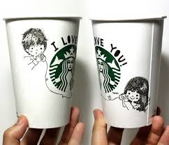 starbucks coffee cup drawing. Unique Cup With Starbucks Coffee Cup Drawing U
