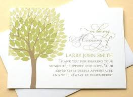 Thank You For Sympathy Card Bereavement Thank You Cards Funeral Thank You Cards With A Big Green