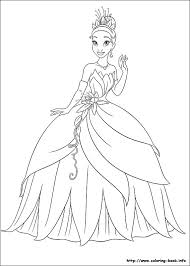 Small Picture The Princess and the Frog coloring picture princess and the frog