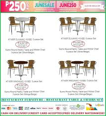 permalink to amazing restaurant tables and chairs philippines