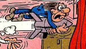 Resultado de imagen de mortadelo y filemon con baston
