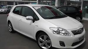 Used Car | Toyota Auris Hybrid T Spirit | White | VK61EWW | Wessex ...