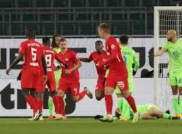 Die partie gegen wolfsburg wird uns viel abverlangen. Rb Leipzig Miss Chance To Climb Bundesliga Summit After Draw At Wolfsburg Newschain